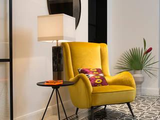 Arzu Kartal Interior Studio & Concepts Couloir, entrée, escaliers modernes