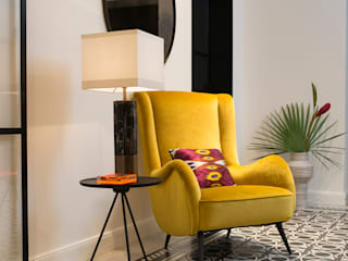Arzu Kartal Interior Studio & Concepts Ingresso, Corridoio & Scale in stile moderno