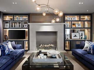 New Reflections - Residential Project Modern living room by Rachel Usher Interior Design Modern