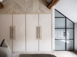 A Space Redefined - Residential Project:  Bedroom by Rachel Usher Interior Design