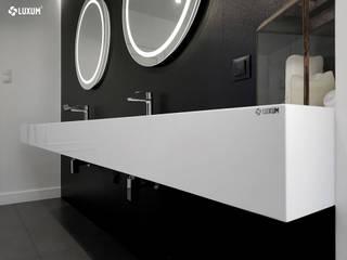 Łazienka na miarę od Luxum Minimalistyczny