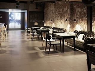 Dining room by Ceramika Paradyz, Modern