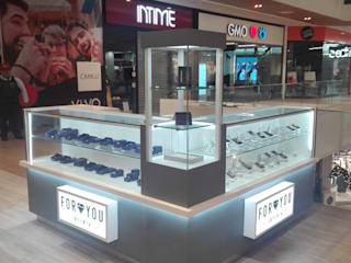 Módulo ventas retail Bel diseño y construccion Oficinas y tiendas Aglomerado