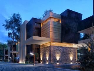 ANTE MİMARLIK  – Villa Konut Projesi :  tarz Villa
