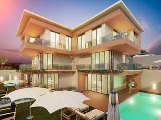 ANTE MİMARLIK Casas de estilo moderno