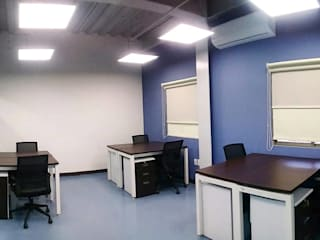 Oficinas ALMAN :  de estilo industrial por Celsius Arquitectos , Industrial