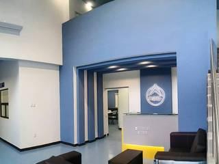 Oficinas ALMAN Estudios y despachos industriales de Celsius Arquitectos Industrial
