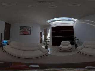 PROPUESTA DE SALA : Salas de estilo  por ARQUITECTOS TAFOYA