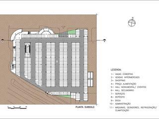 Modern offices & stores by Douglas Piccolo Arquitetura e Planejamento Visual LTDA. Modern