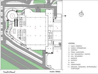 Moderne Geschäftsräume & Stores von Douglas Piccolo Arquitetura e Planejamento Visual LTDA. Modern