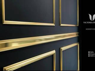 victoria inşaat .TAH.DEK – Altın sarısı duvar çıtalama profilleri :  tarz , Klasik