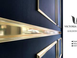 victoria inşaat .TAH.DEK – Altın sarısı duvar çıtalama profilleri :  tarz