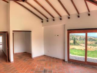 Rustic style bedroom by cesar sierra daza Arquitecto Rustic