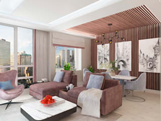 Living room by #martynovadesign, Eclectic