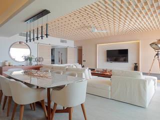 Estancia: Salas de estilo  por PAIR Arquitectura