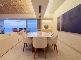 DEPTO GP Comedores modernos de PAIR Arquitectura Moderno