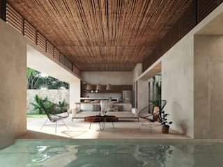Salon tropical par Embassy Realty Tropical