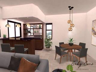 Modern Dining Room by Gaby Cons Deco & Handmade Modern