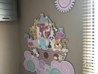 Vinilo Arca Noe : Habitaciones infantiles de estilo  por Flap deco