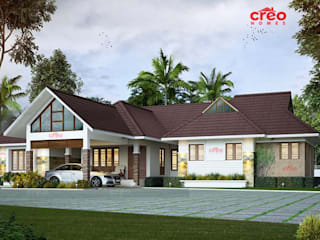 Professional Architect firms in Cochin Creo Homes Pvt Ltd Asian style houses
