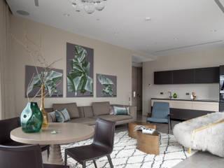 Квартира с видом на реку от PropertyLab+art Эклектичный