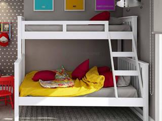 Decordesign Interiores Habitaciones infantilesCamas y cunas Aglomerado Blanco