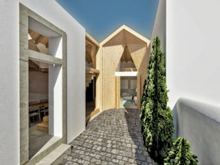 Recuperação de Casa da Aldeia por Imagem Publica, Design & Comunicação Moderno