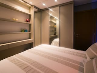 Apartamento M-O por INOVAT Arquitetura e interiores Moderno
