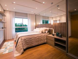 Apartamento M-O Quartos modernos por INOVAT Arquitetura e interiores Moderno