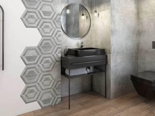 Ceramika Paradyz 現代浴室設計點子、靈感&圖片