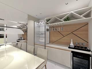 Residência por INOVAT Arquitetura e interiores Moderno