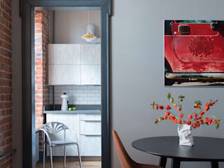 Возрождение квартиры на Патриарших от PropertyLab+art Эклектичный