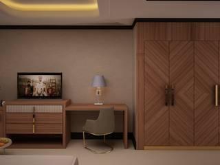 MOZAMBIQUE HOTEL PROJECT Modern Yatak Odası VOLKAN TURHAN INTERIORS ARCHITECT Modern