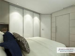 Small bedroom by Arquiteta Jéssica Hoegenn - Arquitetura de Interiores