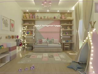 Modern nursery/kids room by MD&D Arquitetura e Interiores Modern