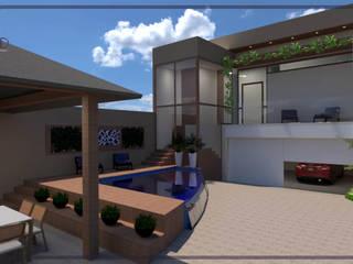 Casa Treviso I Casas modernas por MD&D Arquitetura e Interiores Moderno