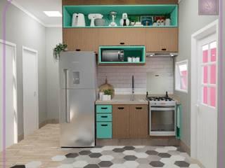 Casa Santa Isabel I Cozinhas modernas por MD&D Arquitetura e Interiores Moderno