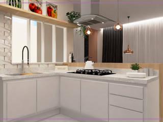 Casa em Registro-SP. Cozinhas modernas por MD&D Arquitetura e Interiores Moderno