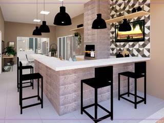 Casa em Registro-SP. por MD&D Arquitetura e Interiores Moderno