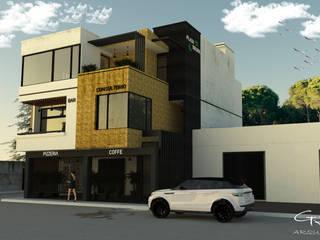 Modern office buildings by GT-R Arquitectos Modern