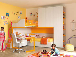 Recamara Infantil: Recámaras para niños de estilo  por SAK Recamaras Infantiles
