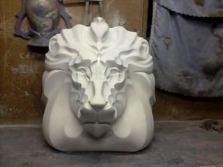 Скульптуры. Лев. от Мастерская лепного декора Классический