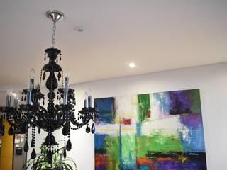 Comedores y chandelier:  de estilo  por Lamparas Chandelier
