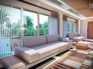 Modern living room by YUMA ARQUITECTOS Modern