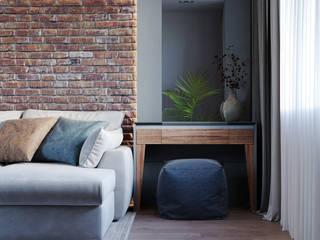 Проект гостиной Гостиная в стиле лофт от Margarita Zenova Лофт