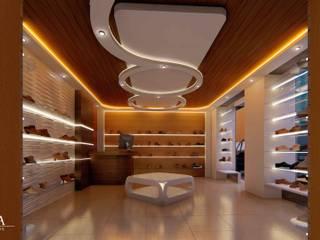 現代風玄關、走廊與階梯 根據 YUMA ARQUITECTOS 現代風