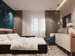 Bedroom by 3D GROUP, Minimalist