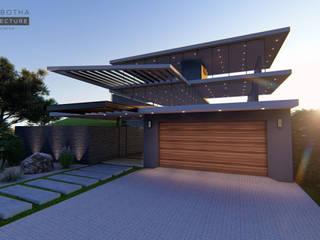 Salt Rock_ Ballito, KZN:  Houses by Tiaan Botha Architecture & Associates,