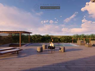Estate Living 2_ Ballito, KZN:  Houses by Tiaan Botha Architecture & Associates,