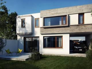 Casas de estilo  por Estudio Machelett, Moderno